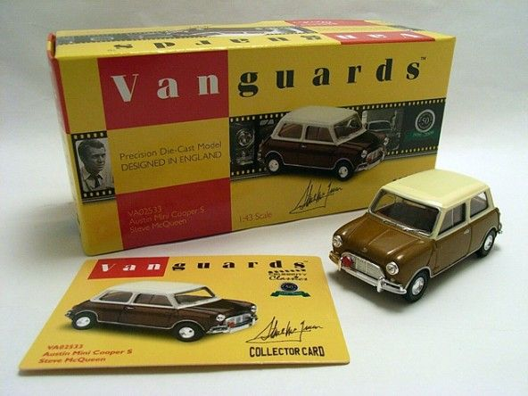 Mini Vanguards Steve Mcqueen