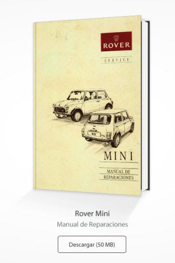 Mini Rover Manual de reparación